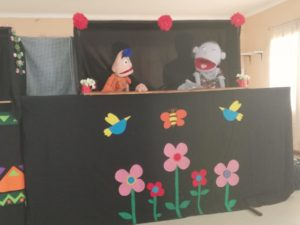 Covid-19 compliant puppet shows
